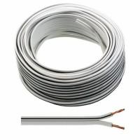 White Speaker Cable